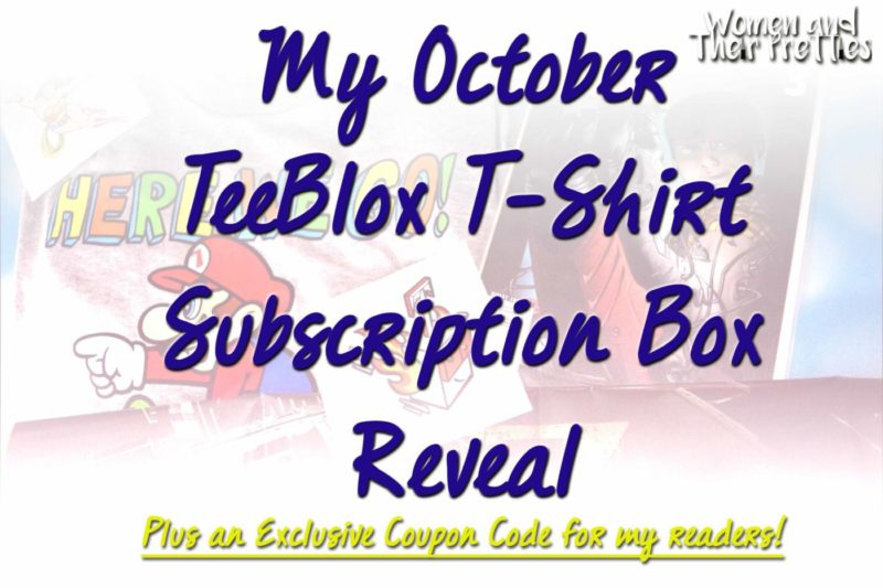 TeeBlox T Shirt Subscription Box