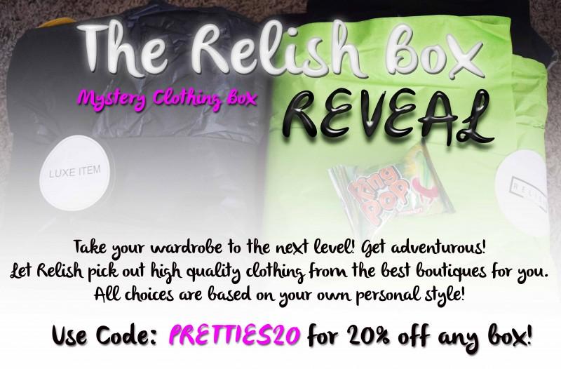 The Relish Box - Clothing Mystery Box