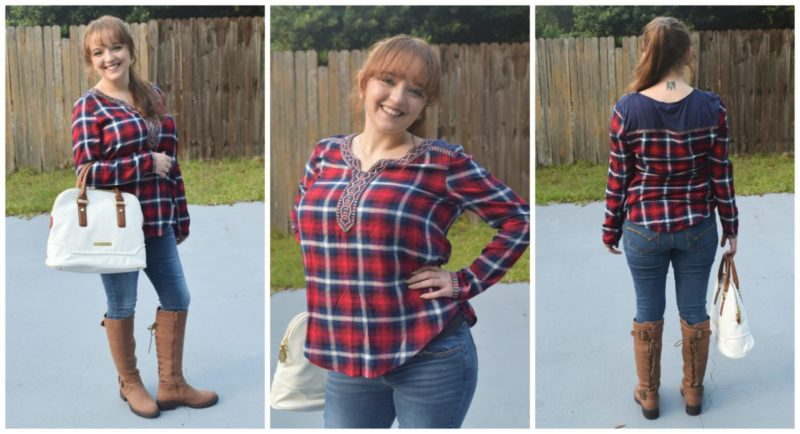 Thyme Clothing Plaid Tunic - Relish Mystery Clothing Box