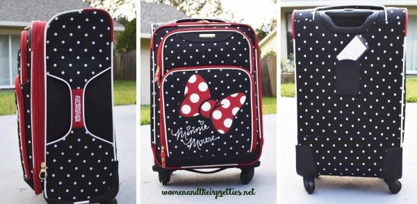 American Tourister Luggage Disney Themed