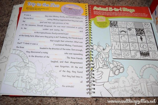 Disney Imagicademy Activity Books
