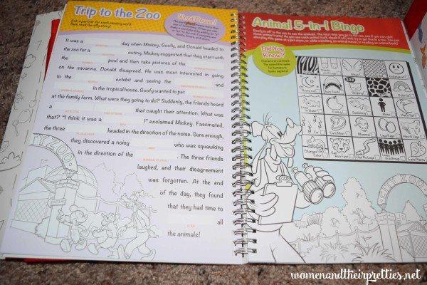 Disney Imagicademy Activity Books