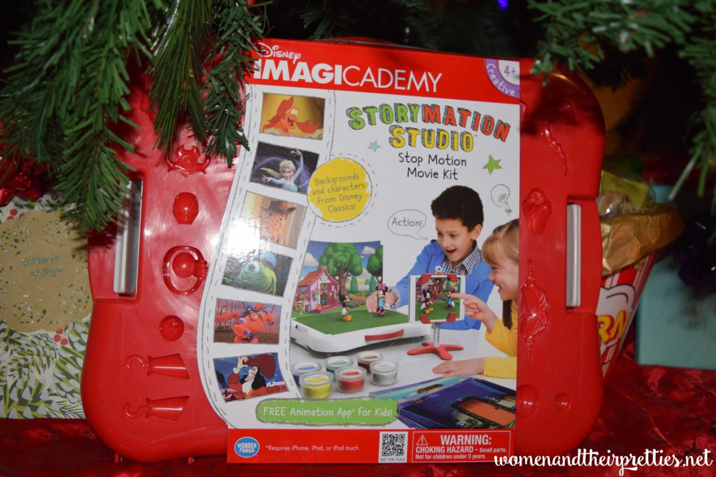 Disney Imagicademy Storymation Studio Stop Motion Movie Kit #Wonderforge