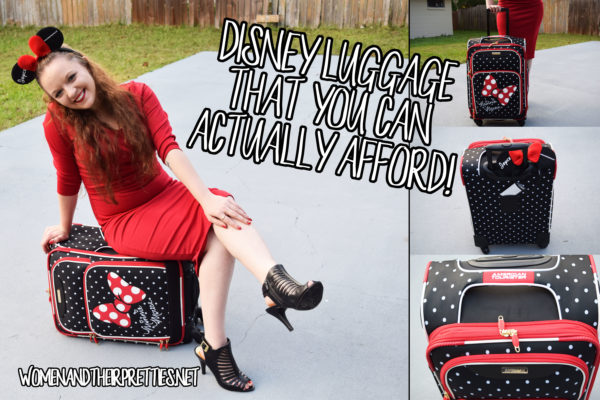 Disney Luggage for kids and adults that is affordable and top quality!