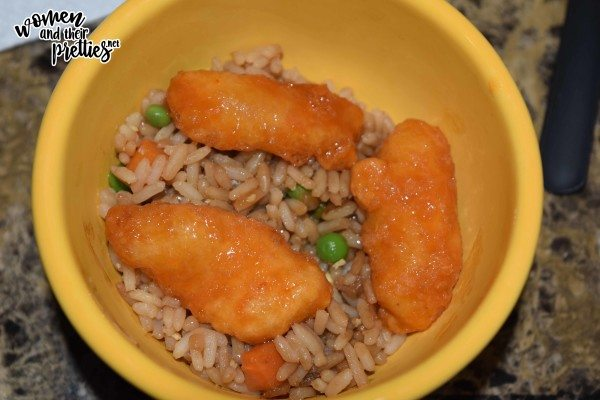 Kahiki Sweet & Sour Chicken and Rice