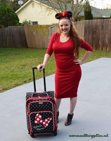 Representing My Beautiful Disney Luggage