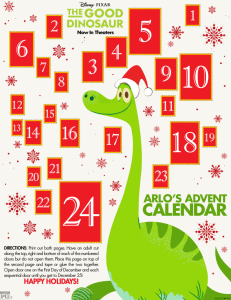 Arlo's Advent Calendar