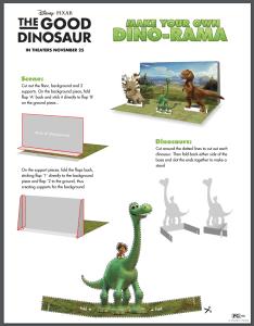 Make Your Own Dino-Rama