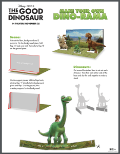 Make Your Own Dino-Rama