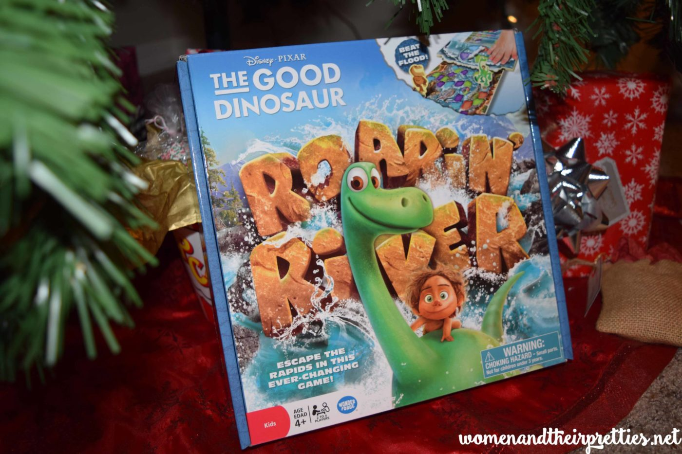 The Good Dinosaur Roarin River Board Game