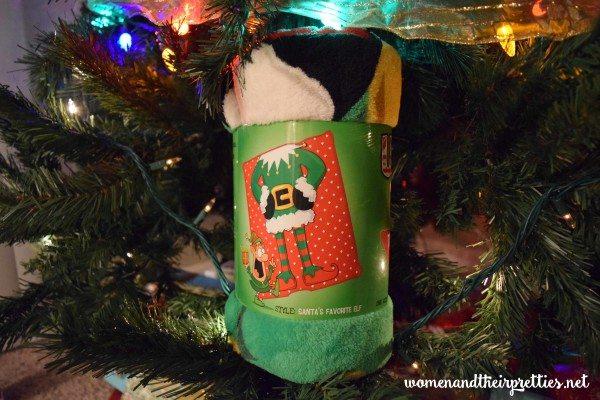 Ugly Christmas Blanket Santas Favorite Elf #Christmas #GiftIdea #ChristmasBlanket