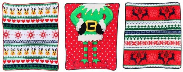 Ugly Christmas Blankets