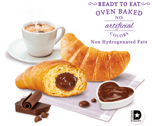 Bauli Flavored Croissants