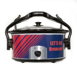 Broncos Hold and Go Slow Cooker