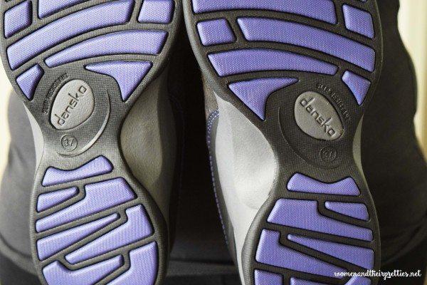 Dansko Sabrina Walking Shoes Bottoms