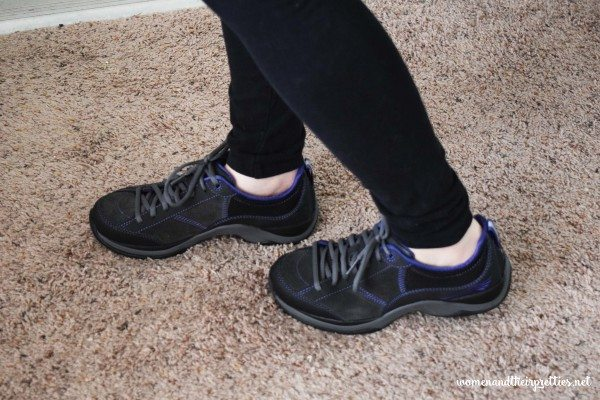 Dansko Sabrina Walking Shoes On
