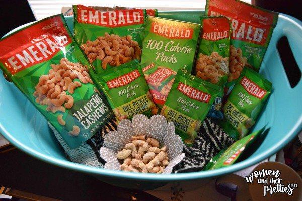 Emerland Nuts Snack Basket