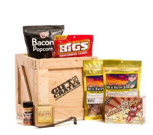 Gift Crate Bacon Gift Crate