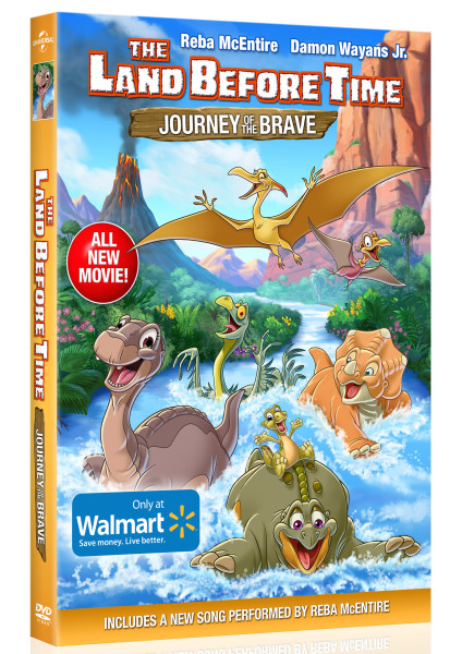 Land Before Time-Journey of the Brave_on DVD Feb 2