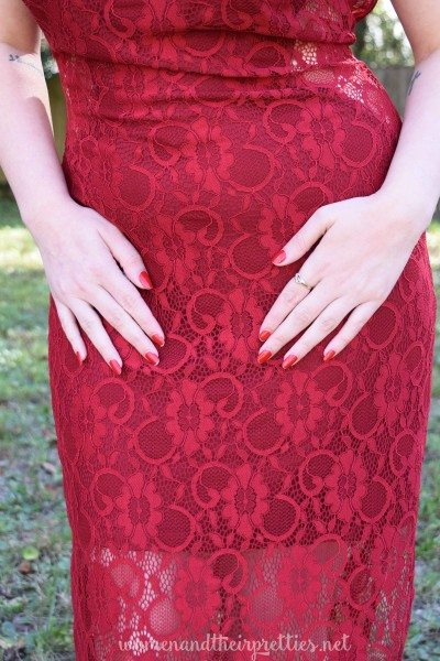Lookbook Store Burgundy Low Back Dress