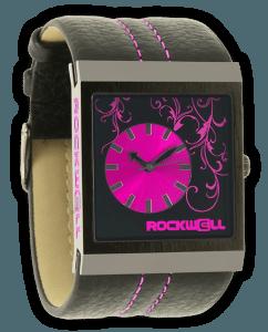 Mercedes Rockwell Hotpink Watch