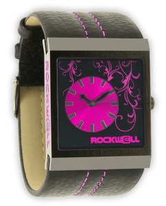 Mercedes Rockwell Hotpink Watch