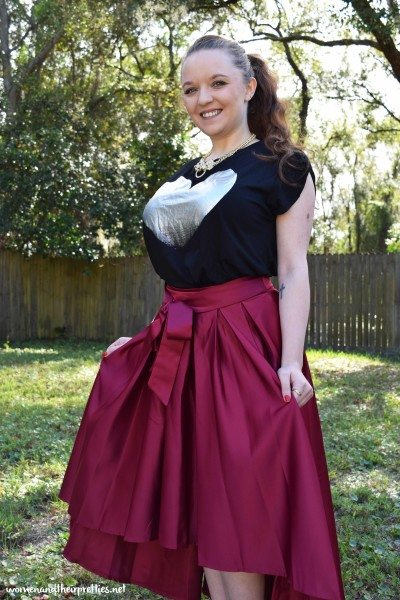 Milanoo Review of Vintage SkirtMilanoo Review of Vintage Skirt