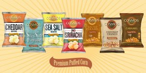 Premium Puffed Corn