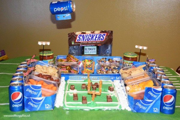 The Ultimate DIY Snack Candy Stadium