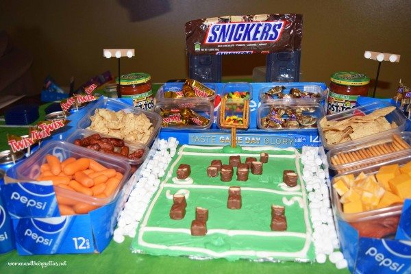 Ultimate DIY Snack Stadium with Pepsi Boxes