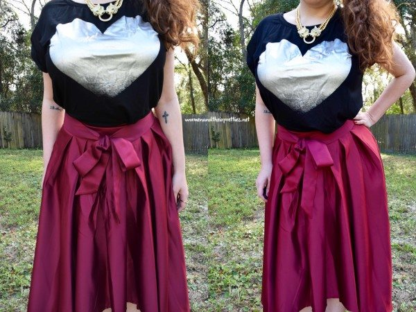 Vintage Skirt from Milanoo