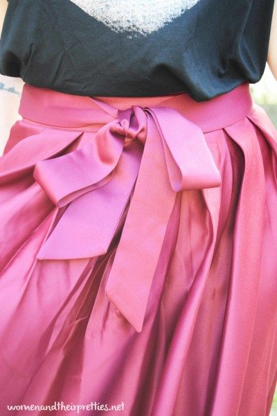 Vintage Skirt with Bow