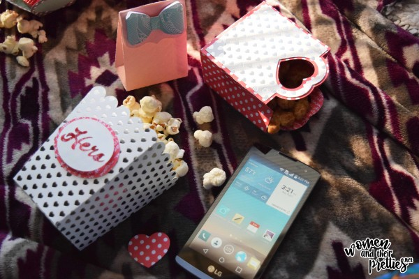 Date Night At Home with DIY Popcorn Boxes