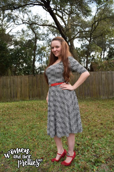 LuLaRoe Dress Black and White Nicole