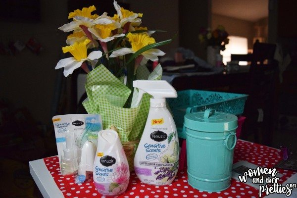 Renuzit Sensitive Scents for Spring