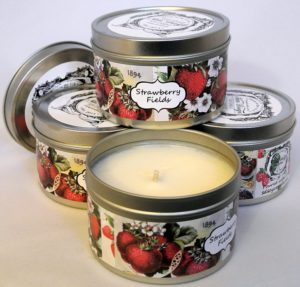 Strawberry Fields Candle