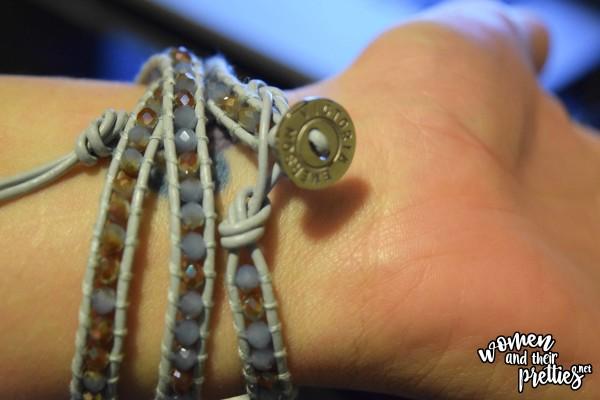 Victoria Emerson beaded bracelets