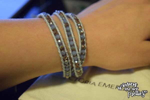 Victoria Emerson bracelet beaded wrap bracelet