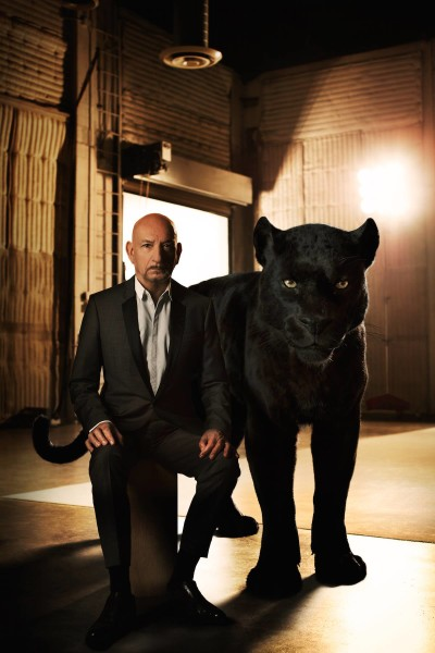 "Sir Ben Kingsley (voice of ""Bagheera"")"