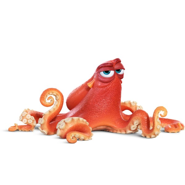 HANK (voice of Ed O'Neill) is an octopus ©2016 Disney•Pixar. All Rights Reserved.
