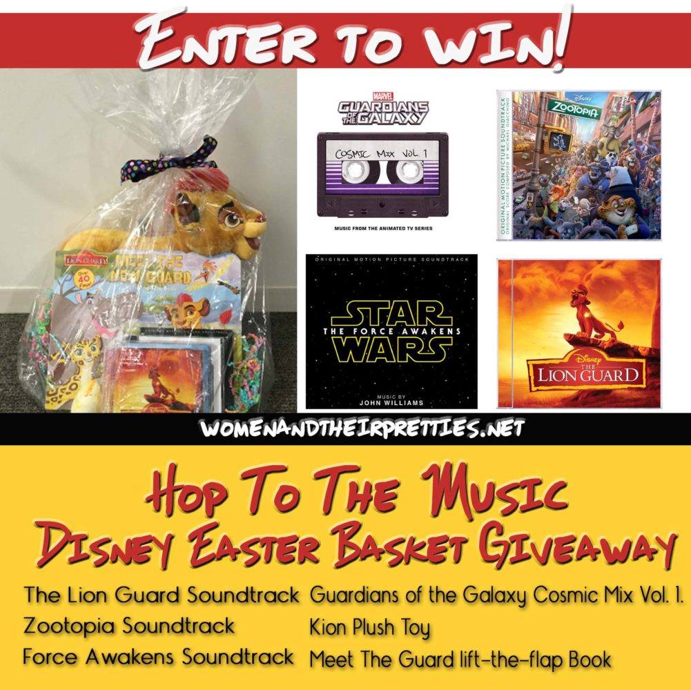 Hop To The Music Disney Easter Basket Giveaway