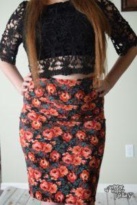Pretty Black Crochet Crop top from Milanoo.com