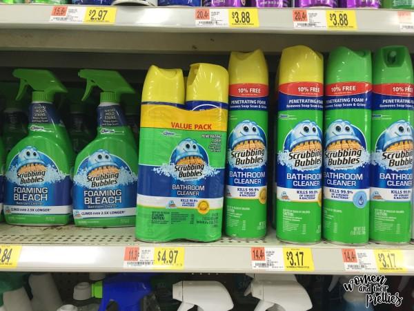 Scrubbing Bubbles In-Store Photo