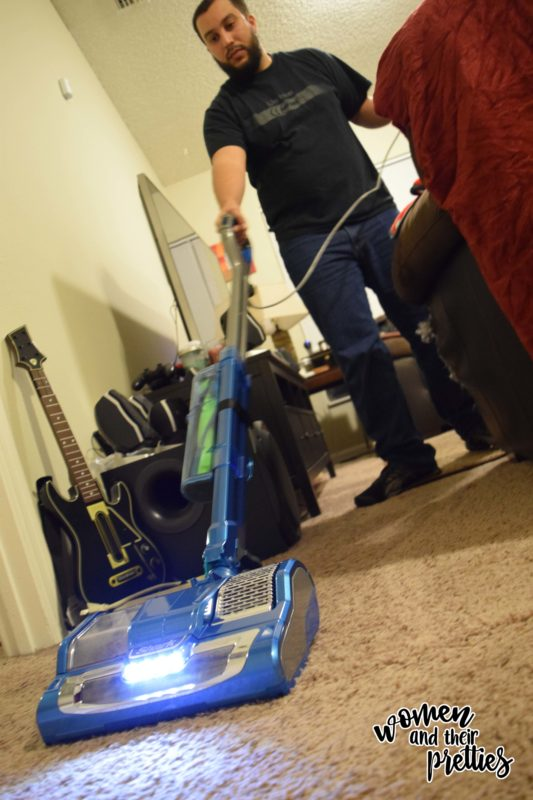 Shark Rocket Powerhead Review In Use photo