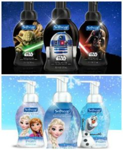 Soft Soap Star Wars and Frozen