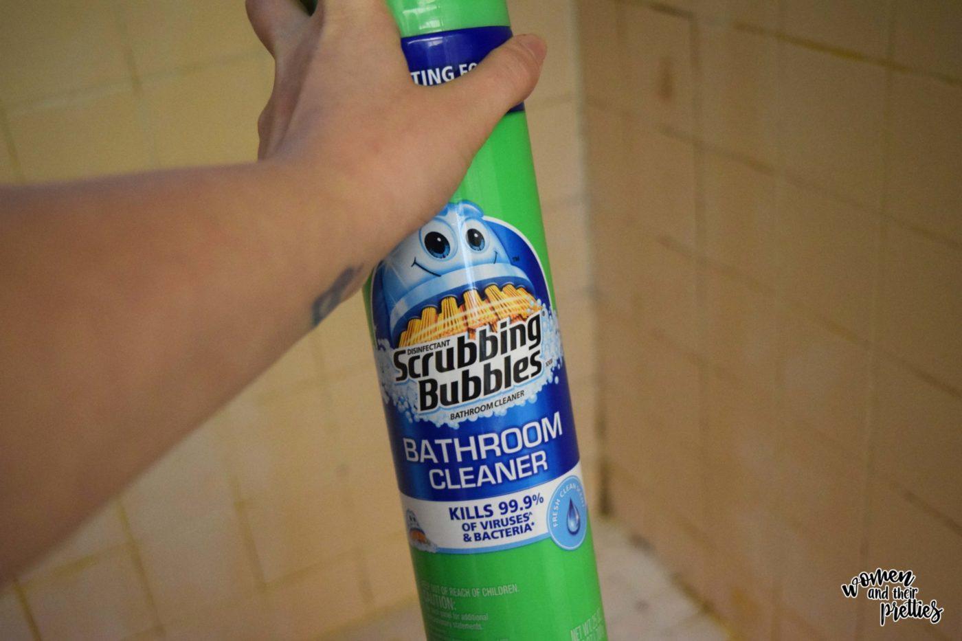 Spray Scrubbing Bubbles for April Showers