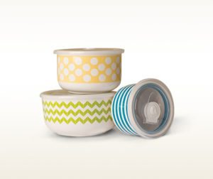 Tastefully Simple Storage Bowls