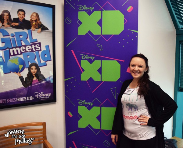 At The Disney XD Building before heading to the Walk The Prank Set