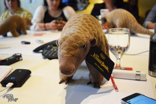 Mr. Pangolin from The Jungle Book review