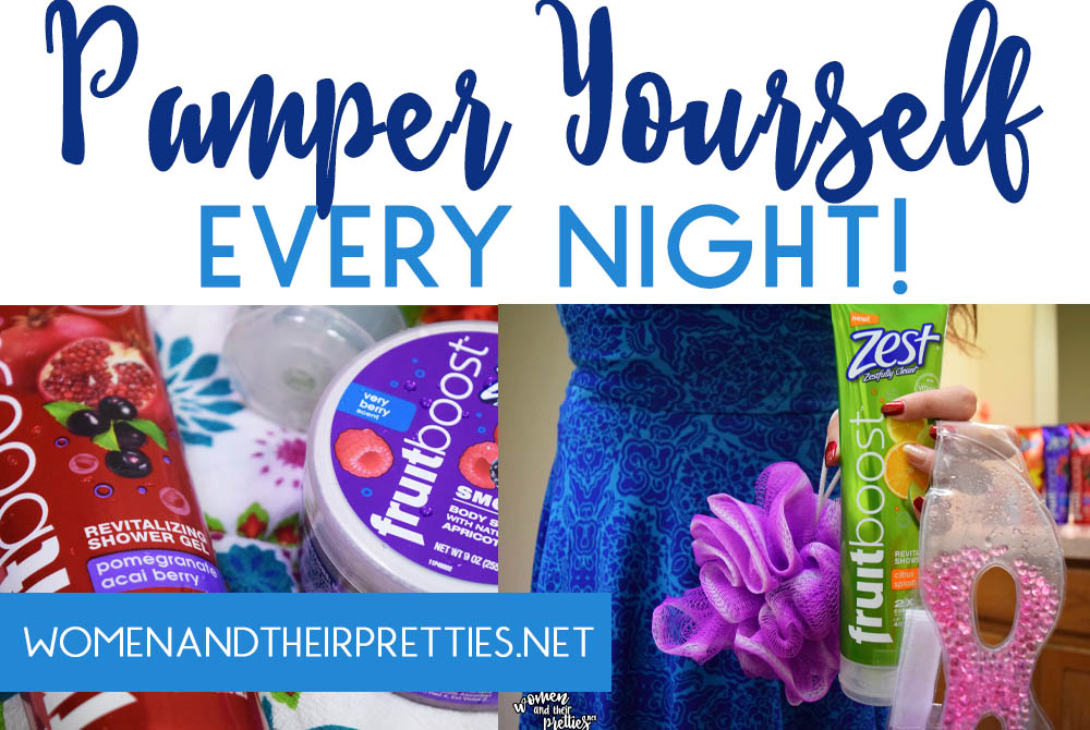 PAMPER YOURSELF EVERY NIGHT